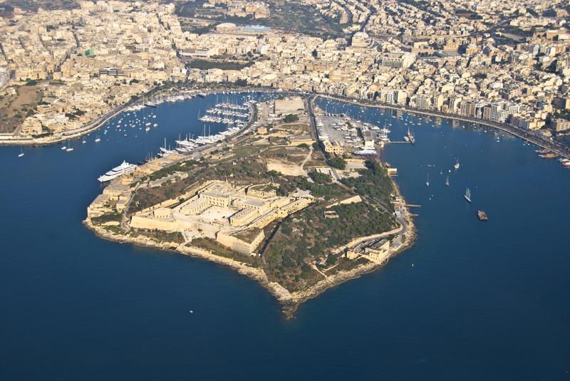 malta gzira manoel island aerial by mario galea 1